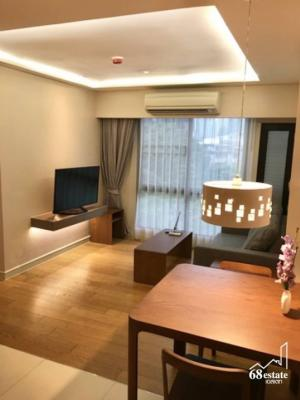 For RentCondoSukhumvit, Asoke, Thonglor : Condo for rent, Tidy Deluxe, corner room, Sukhumvit 34, away from BTS Thonglor 600 m. (68142)