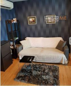 For SaleCondoOnnut, Udomsuk : Condo for sale, The Base Sukhumvit 77, high floor, pool view, fully furnished (CM13-24).