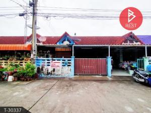 For SaleTownhousePattaya, Bangsaen, Chonburi : Single storey townhouse for sale. Malai Thong Villa 1 Village, Ban Suan, Chonburi