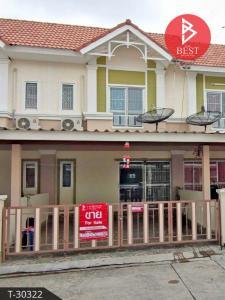 For SaleTownhousePattaya, Bangsaen, Chonburi : Townhouse for sale Wananya Greenplace, Phan Thong, Chonburi
