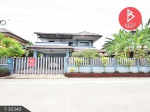 For SaleHouseRatchaburi : House for sale. Tangsuk Village Phase 2 Ban Pong District Ratchaburi