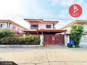 For SaleHouseRama5, Ratchapruek, Bangkruai : House for sale. Pruksa Garden Home 2 Village, Soi Wat Phra Ngoen, Nonthaburi
