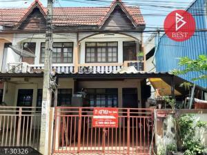 For SaleTownhouseSamrong, Samut Prakan : Townhouse for sale Sukhothai Praksa Village, Samut Prakan, trading location