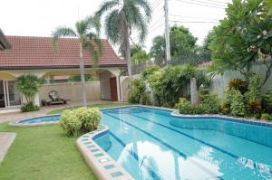 For RentHousePattaya, Bangsaen, Chonburi : House for rent Pattaya Nirvana pool villa 1 Pattaya, 4 bedrooms with private swimming pool