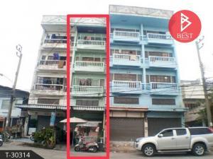 For SaleShophouseNawamin, Ramindra : 4-storey commercial building for sale, Amphon Place 2 Village, Or Ngoen Sukhaphiban 5, Bang Khen, Bangkok