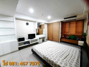 For RentCondoRamkhamhaeng, Hua Mak : Condo The Inspire Place ABAC Rama 9 @Assumption University 29.2 sq.m 12th floor, Fully furnished