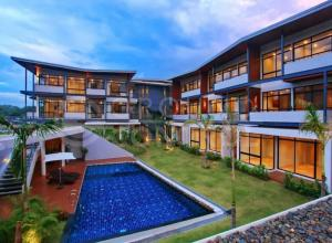 For SaleCondoKorat KhaoYai Pak Chong : Condo for sale, THE COLD MOUNTAIN RESIDENCE Khao Yai project, total sales of 22 rooms, ready to move in.