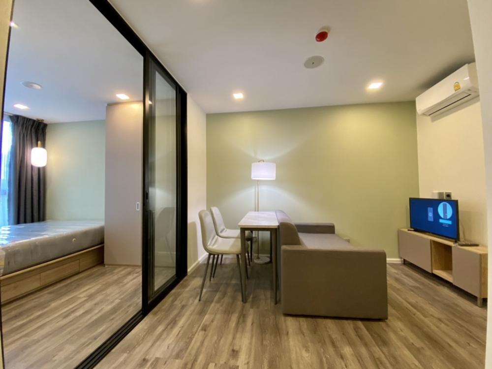 For RentCondoRatchadapisek, Huaikwang, Suttisan : ⭕️ For rent (2 bedrooms) Atmoz Ratchada-Huaykwang, new room, 1 hand, garden view, very pleasant.