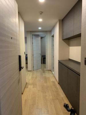 For SaleCondoWitthayu,Ploenchit  ,Langsuan : Luxury condo for sale in the heart of the city Klass langsuan (Lang Suan class) BTS Chidlom 3 bed Duplex 110 sq.m price 27.69 million fluffer, very beautiful garden view.
