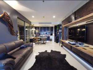 For RentCondoRama3 (Riverside),Satupadit : Rent / Sale Starview Condo, 2 bedrooms, Rama 3, Private elevator to room 77 sq m, 2 bedrooms, 2 kong Nam