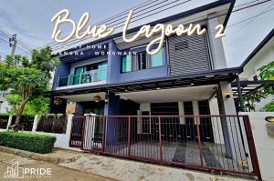 For SaleHouseBangna, Lasalle, Bearing : House for sale / House for rent Blue Lagoon 2 Bangna - Wongwaen Blue Lagoon 2 Bangna-Wongwaen Project