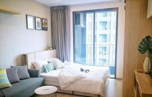 For RentCondoSiam Paragon ,Chulalongkorn,Samyan : Studio for rent, fully furnished, with washing machine, ready to move in - Rent Studio Ready to move in!