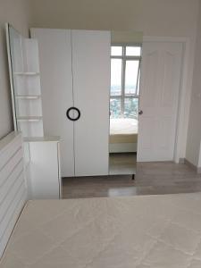 For RentCondoRattanathibet, Sanambinna : For rent, Manor Sanambinnam, 1 bedroom, 30 sqm, 29th floor / 7,500 baht, very cheap, fully furnished.