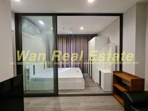 For RentCondoRattanathibet, Sanambinna : Condo for rent, politan aqua, 43th floor, corner room, size 25 sq m, fully furnished, ready to move in, river view.