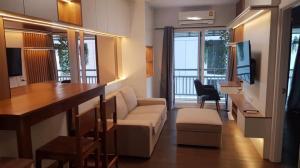 For RentCondoSukhumvit, Asoke, Thonglor : Condo for rent, Grand Park View Asoke, Grand Park View Asoke, beautiful room, fully furnished
