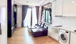 For RentCondoLadprao, Central Ladprao : Equinox Condo, Chatuchak Park view, panoramic 63 sq m, 2 bedrooms, 2 bathrooms, fully furnished, in million, only for rent 35,000 baht / month.