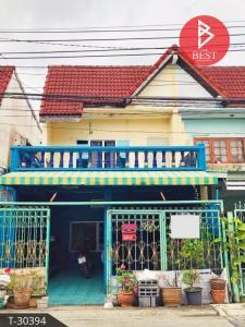 For SaleTownhouseRamkhamhaeng,Min Buri, Romklao : Townhouse for sale Chatluang Village, Min Buri, Bangkok