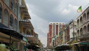 For SaleShophouseRamkhamhaeng Nida, Seri Thai : 3.5-storey commercial building building, Ramkhamhaeng Road, Huamark, Bangkapi, Bangkok.