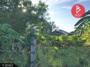 For SaleLandRayong : Land for sale, 1 ngan area, 20.0 square meters, Ban Chang, Rayong.