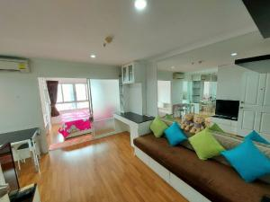 For RentCondoRama9, RCA, Petchaburi : Urgent rent, LPN Place rama9 1BD, beautiful room, ready to move in (owner room)