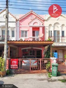 For SaleTownhouseSamrong, Samut Prakan : Urgent sale Townhouse Victoria Private City Bangna-Srinakarin Samut Prakan