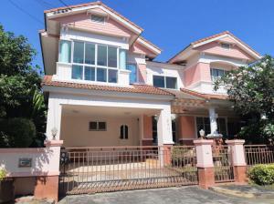 For SaleHouseLadkrabang, Suwannaphum Airport : Single House For Sale, located Bang Na, Near MEGA Bangna Shoping Centre