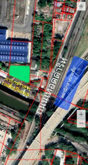 For SaleLandBang Sue, Wong Sawang : Prime location land near MRT Bang Sue, Bang Sue Central Station, only 200M !!