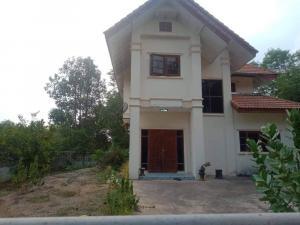 For SaleHouseUbon Ratchathani : 2-storey detached house, land size 1 ngan, 18.6 square meters, Ubon Ratchathani, Ban Dong Saen Suk