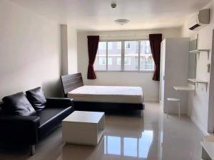 For RentCondoPattanakan, Srinakarin : For rent D Condo On Nut Suvarnabhumi, quiet, pool view.
