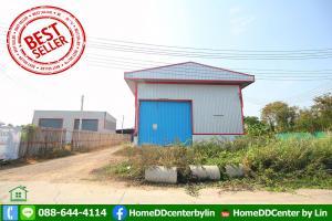 For SaleWarehouseRangsit, Patumtani : Land for sale 219 sq m with warehouse. Ready to operate Pin Thong Land 5, Lat Lum Kaeo, Pathum Thani Rd., Bang Bua Thong - Suphanburi Rd.