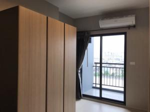 For RentCondoSamrong, Samut Prakan : Urgent rent, the room dropped, the cheapest on the website, plus beautiful decoration, Ideo Sukhumvit 115, 35 sqm.