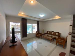 For RentTownhouseSamrong, Samut Prakan : House for rent Supalai Ville Srinakarin-Kingkaew