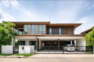 For SaleHousePattanakan, Srinakarin : House for sale Burasiri Pattanakarn, land 132 square wah, 5 bedrooms 5 bathrooms