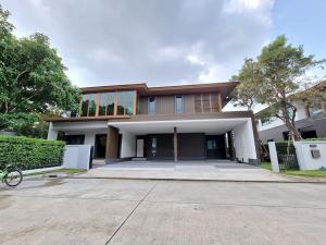 For RentHousePattanakan, Srinakarin : House for rent Burasiri Phatthanakan, land 117 square wah, 4 bedrooms, fully furnished.