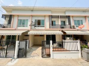 For SaleTownhouseRama5, Ratchapruek, Bangkruai : Townhome for sale, The Pleno, Rattanathibet-Chaiyapruek, 100 sq m. 18 sq m, beautiful condition, very cheap.