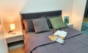 For RentCondoChengwatana, Muangthong : Condo for rent Supalai Loft Chaengwattana Soi Chaengwattana - Pak Kret 40, Klong Kluea Subdistrict, 1 bedroom with cheap.