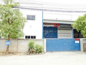 For RentWarehouseNakhon Pathom, Phutthamonthon, Salaya : Warehouse for rent, factory in the Sri Pracha Factory project