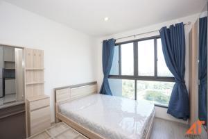 For RentCondoBangna, Bearing, Lasalle : For Rent Ideo Mobi Sukhumvit Eastgate - Studio , size 22 sq.m., Beautiful room, fully furnished.