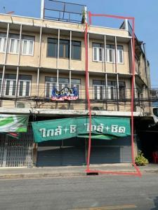 For RentShophouseRama 8, Samsen, Ratchawat : BS685 3-storey commercial building for rent, Samsen district, Dusit district, suitable for cafes, restaurants