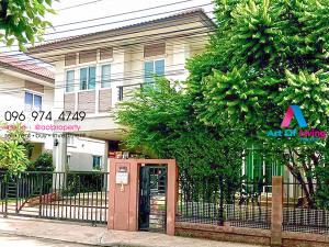 For RentHouseSamrong, Samut Prakan : House for rent The Plant Bangna 2 floors AOL-F68-2104003720.