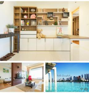For RentCondoWitthayu,Ploenchit  ,Langsuan : Amanta Lumpini - 2 bedrooms, beautiful room for rent, good price, arranged.