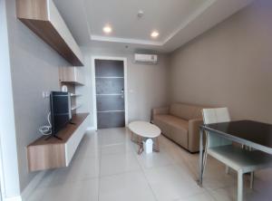 For RentCondoSamrong, Samut Prakan : For rent - The Metropolis Samrong size 35sqm. -BTS Samrong