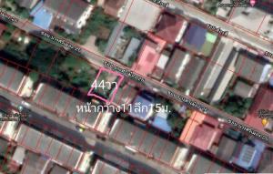 For SaleLandRama5, Ratchapruek, Bangkruai : Land Bang Si City, size 44 sq m.