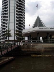 For SaleCondoWongwianyai, Charoennakor : Condo for sale, 4-storey condominium, Tridhos City Marina , Chao Phraya Riverside