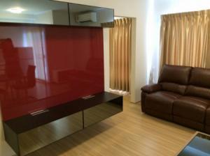 For RentCondoBangbuathong, Sainoi : Condo for rent, plum condo Bangyai station 46 sqm. Building C, 6th floor with furniture.