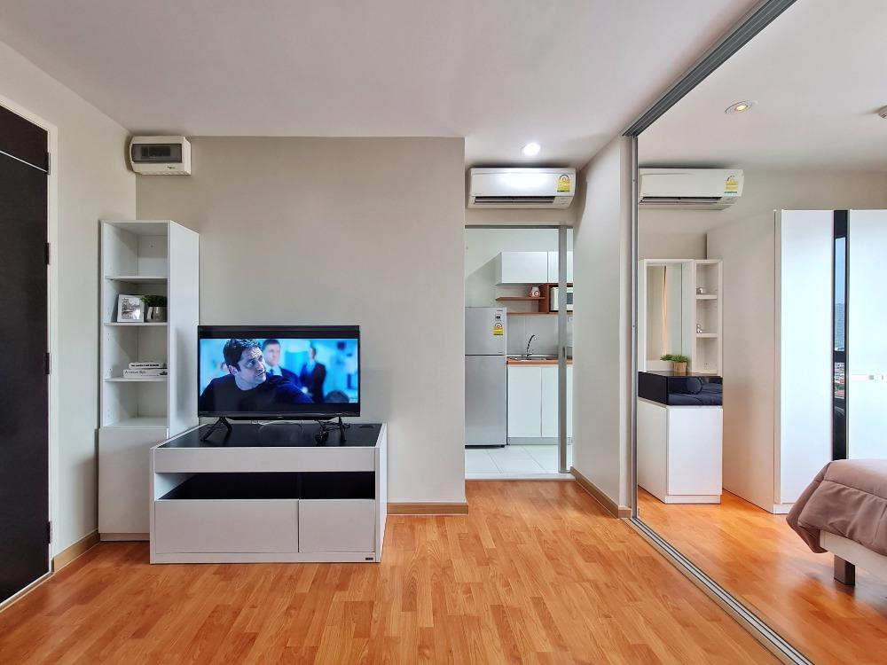 For SaleCondoThaphra, Talat Phlu, Wutthakat : Condo For Rent: The President Sathorn - Ratchapruek 1 Next to BTS Bang Wa (S12) - 1 Bedroom (30 sq.m.) Fully Furnished
