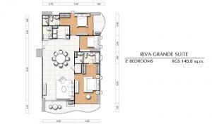 ขายดาวน์คอนโดพระราม 3 สาธุประดิษฐ์ : ขายดาวน์ ศุภาลัย ริวา แกรนด์ ตึก A ชั้น 33 (ตึกสูง 37 ชั้น) ขายราคาต่ำกว่าหน้าสัญญา เจ้าของขายเอง