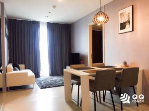 For RentCondoSukhumvit, Asoke, Thonglor : For Rent Rhythm Sukhumvit 42  2Bed , size 56 sq.m., Beautiful room, fully furnished.