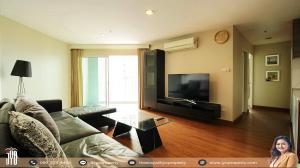 For RentCondoRama9, RCA, Petchaburi : JY-R00001-Condo for rent, Belle Rama 9, 2 bedrooms, 1 bathroom, 78 sq m, D2 building, 18th floor, beautiful decoration.