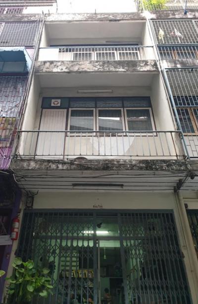 ขายตึกแถว อาคารพาณิชย์สีลม ศาลาแดง บางรัก : 🔥ขายตึกแถว4ชั้น ใจกลางเมืองสี่พระยา 3ห้องนอน 2ห้องน้ำ 14ตร.ว. เหมาะสำหรับพักอาศัย / ซื้อเก็บไว้ลงทุน🔥